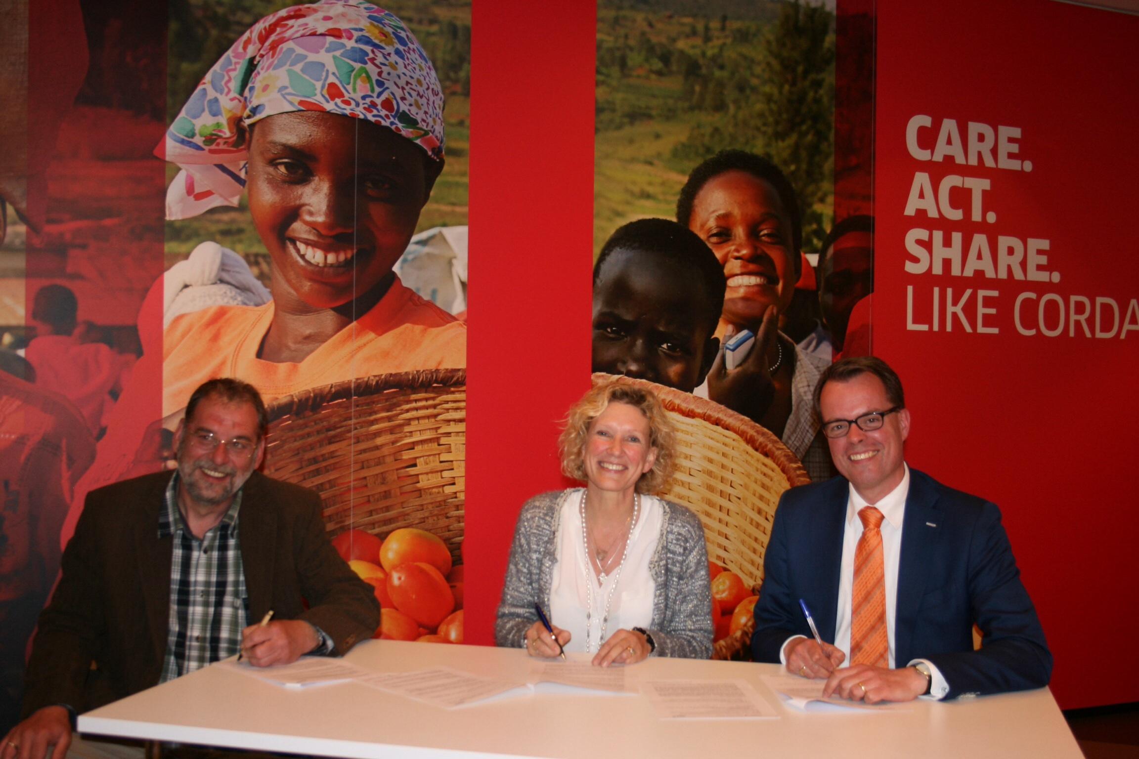 Samenwerking tussen JCI Nederland en Cordaid