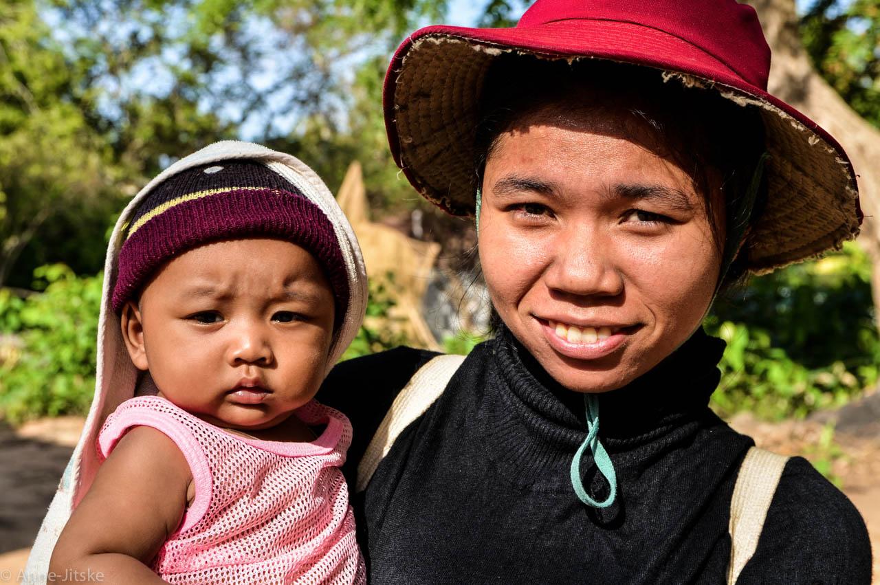 Lokale bevolking Angkor Wat