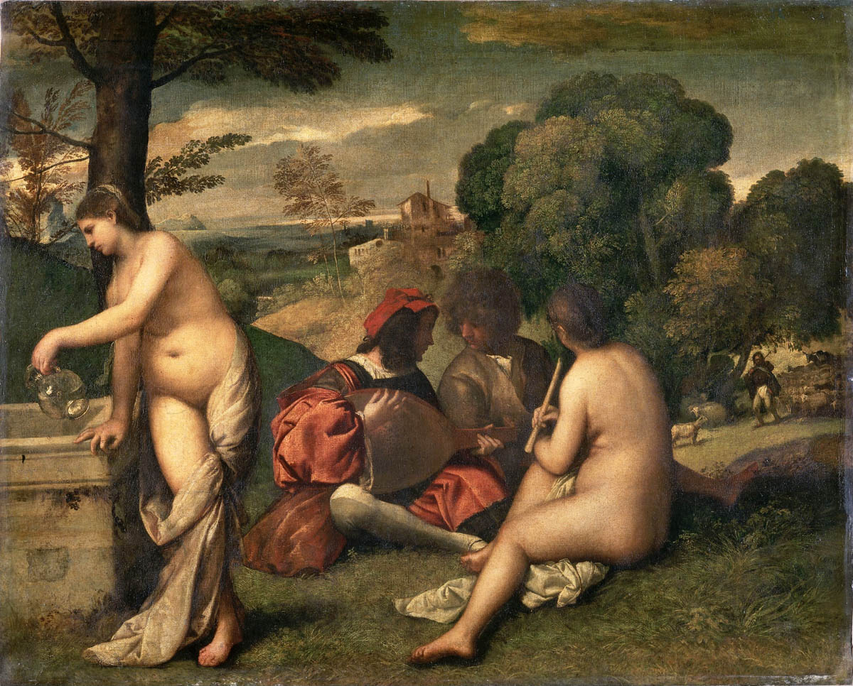 Giorgione, Pastoral Concert. Louvre, Paris