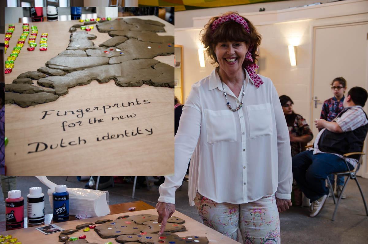 Justia Heijkoop wijst op de nieuwe Nederlandse identiteit