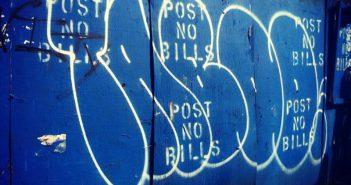 Taboe en graffiti