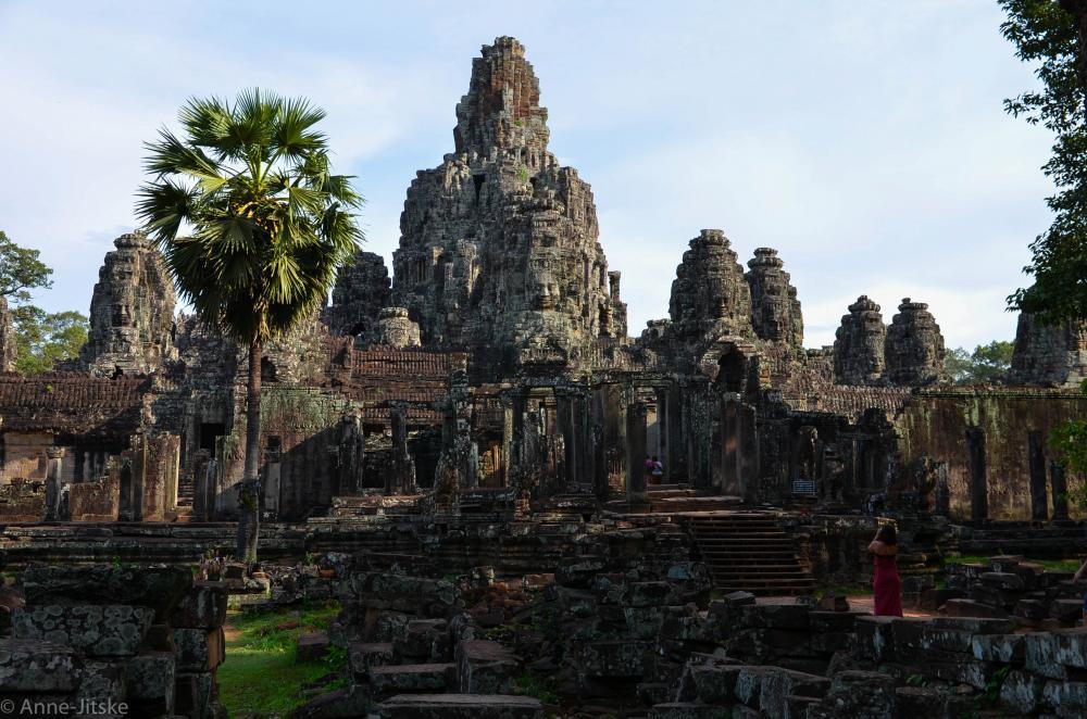 Bayon tempel @ Angkor Wat