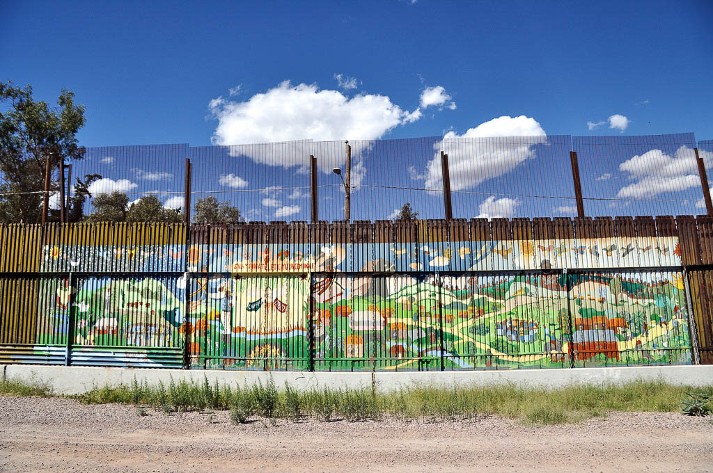 Muur Mexico - Verenigde Staten