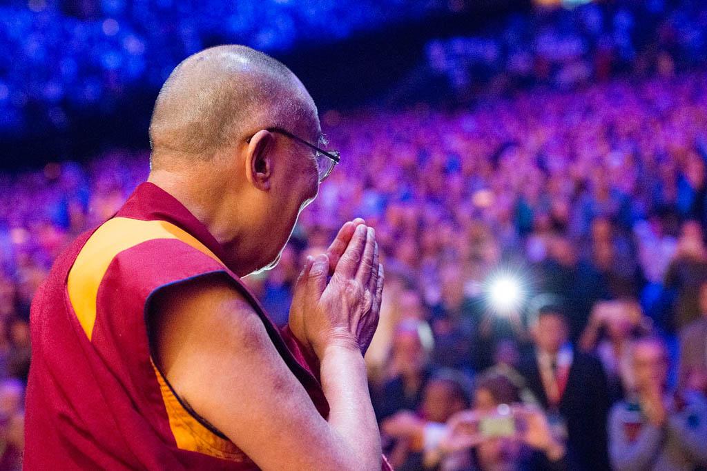 Dalai Lama in Ahoy 2018